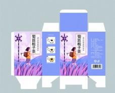 菊苣花茶包装