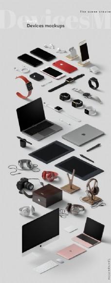 电子产品展示