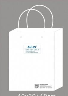 白色礼品袋