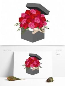 520情人节玫瑰花盒