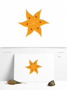 几何花形矢量元素