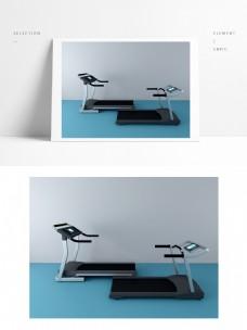 运动器材3d模型