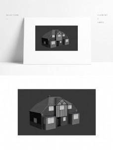 经典别墅设计模型加贴图