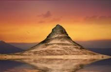 山图片素材夕阳大自然风光