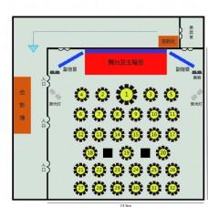 阳光酒店平面图
