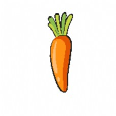 卡通胡萝卜