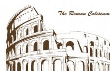 罗马斗兽场矢量图CDR