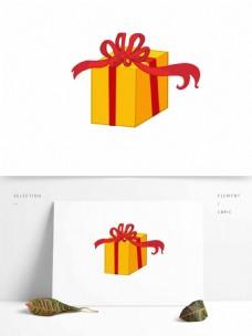 礼盒矢量卡通元素