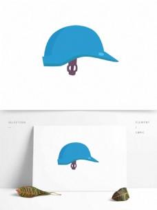 安全帽矢量防护卡通元素