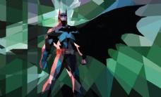 蝙蝠侠插画