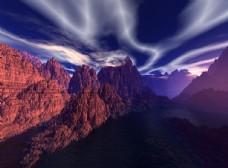 梦幻图片素材大自然景观图片素材
