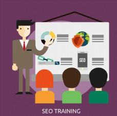 创意搜索引擎优化培训人物