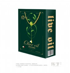 克蒂芬妮橄榄油礼盒包装设计效果