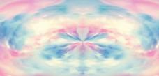 彩色云彩纹理背景