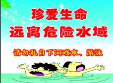 防溺水展板
