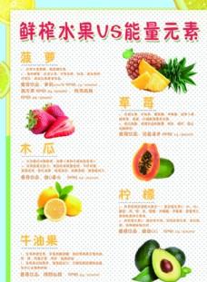 水果宣传单海报