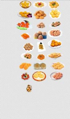 南瓜饼油炸小零食酥脆软糯金黄色