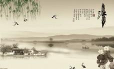 忆江南背景墙