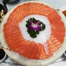 三文鱼美食菜单