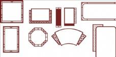 传统边框素材