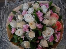 大束玫瑰花