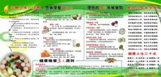 健康 饮食 宣传 版面 文化