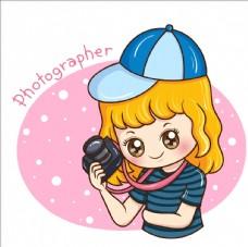 摄影师美女