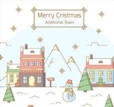 可爱圣诞小镇