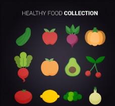 12款彩色健康食物