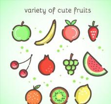 11款可爱水果设计
