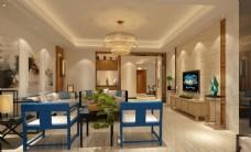 客厅  中式客厅