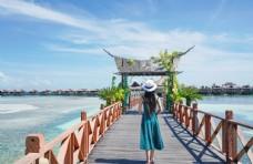 马来西亚沙巴水屋度假酒店