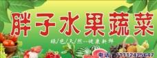 水果 蔬菜展板