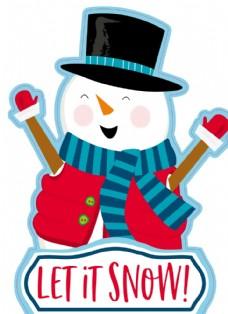 圣诞木牌贴纸