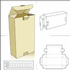 矢量盒子包装