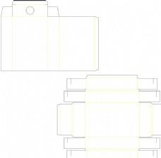盒子刀模,纸盒,抽屉式,刀模