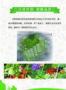 农业产品单页