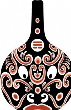 马勺 矢量 陕西马勺图 文化艺