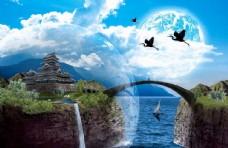 梦幻创意图片素材大自然景观