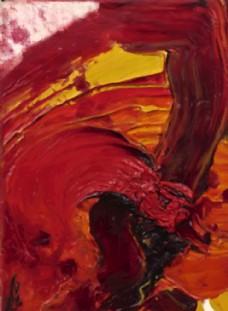 高清抽象油画艺术壁画背景墙