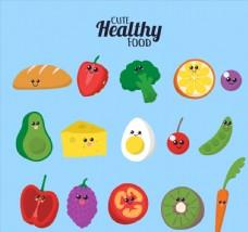 15款创意表情蔬菜和水果