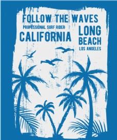 椰子树海报