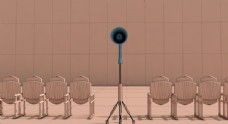喇叭影院3D场景