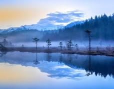 小清新唯美雪景