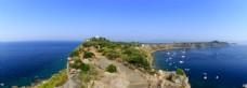 欧洲意大利旅游海岛全景图
