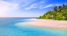 沙滩背景图