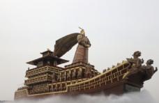 汉武帝 昆明池 西安 沣东 船