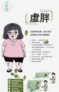 减肥 海报 绿色设计 素材