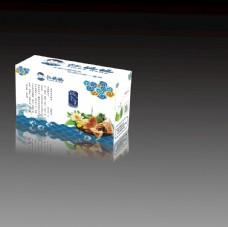 端午节粽子包装盒产品效果图