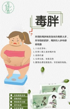 减肥 海报 绿色设计 素材 人